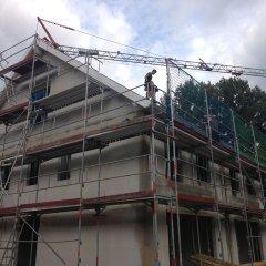 Dach-Akrobaten