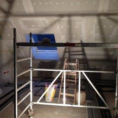 Arbeiten am Dachgeschoss so gut wie abgeschlossen