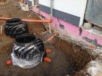 Abwasser- und Regenwasseranschlüsse