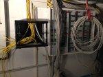 Aufwändige Verlegung im Kabelkanal