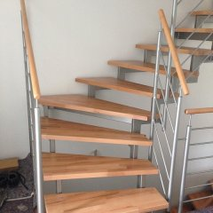 Jetzt mit neuen Treppenstufen...